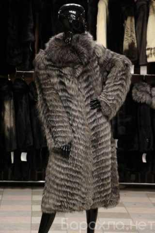 Продам: Пальто из меха чернобурки