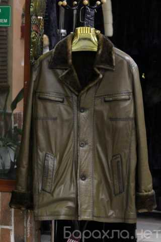 Продам: Мужская кожаная куртка с мехом Levinson