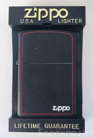 Продам: Zippo матовая черная с каймой 218 ZB 97г