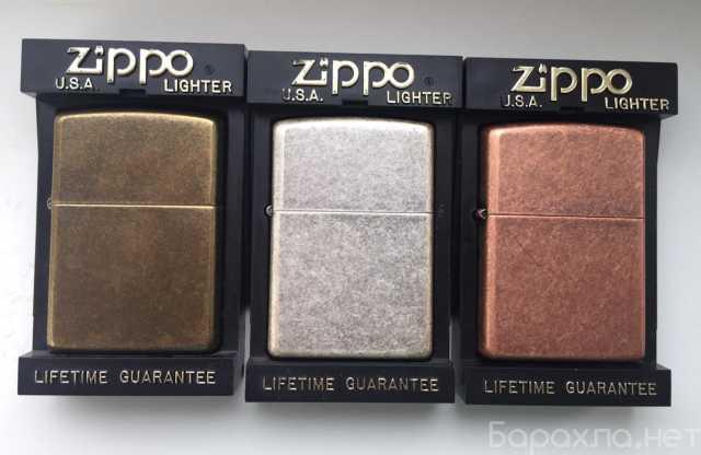 Продам: Зажигалки zippo серии antique finish