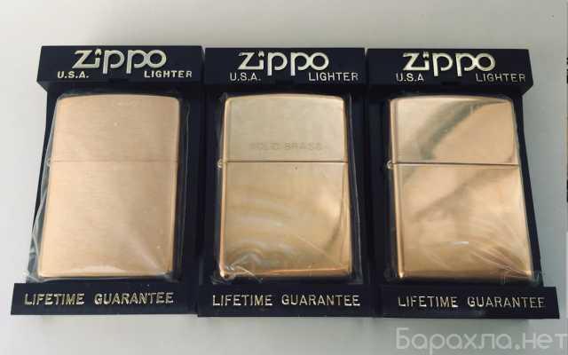Продам: Zippo brass - латунные зажигалка 1997 г