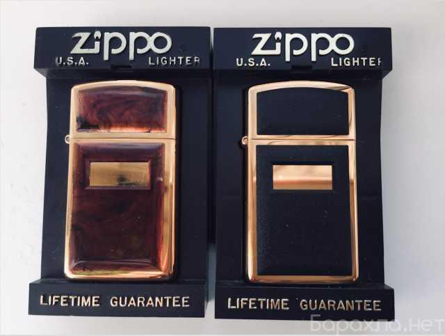 Продам: Зажигалки Zippo тонкие slim Gold Plated