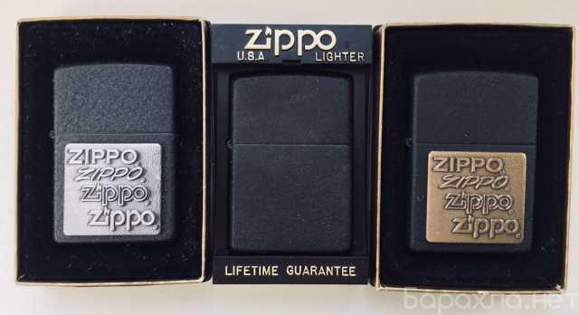Продам: Зажигалки zippo серии black crackle 1997