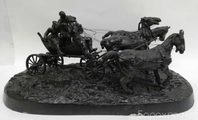 Продам: Редкие статуэтки из чугуна Касли 19-20