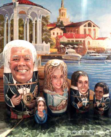 Продам: Матрёшки портретные с лицами по фото