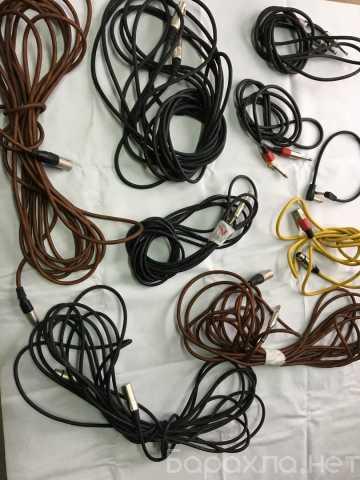 Продам: Кабели микрофонные, инструментальные