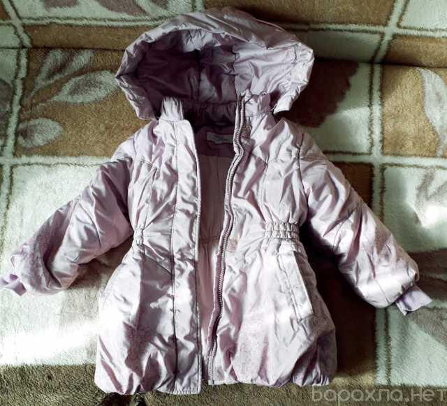 Продам: Куртка зимняя 28 размер на девочку