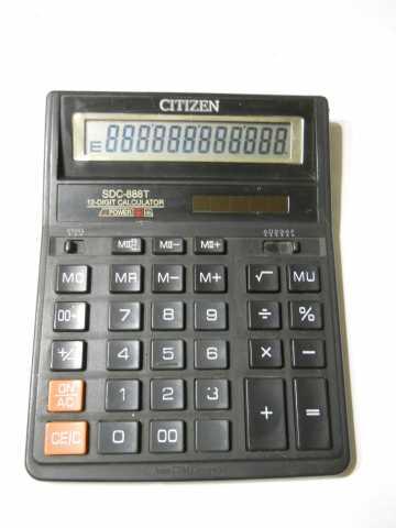 Продам: калькуляторы Citizen