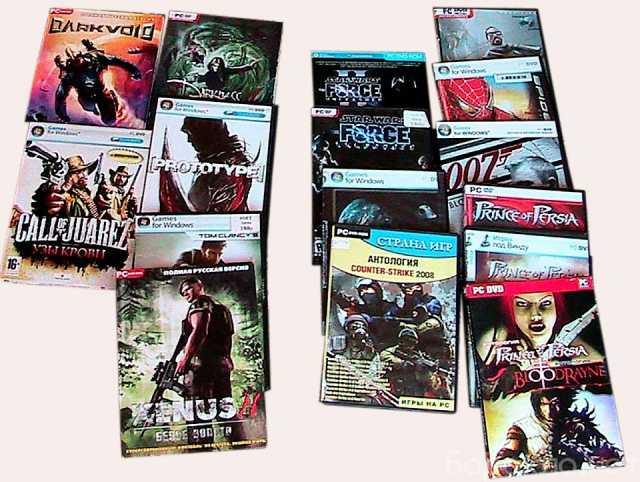 Продам: 48 компьютерных игр из коллекции