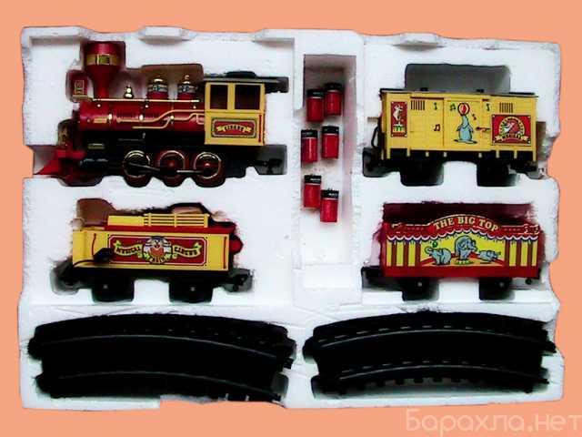 Продам: поезд игрушечный музыкальный цирковой