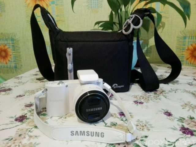 Продам: Фотоаппарат со съемной оптикой