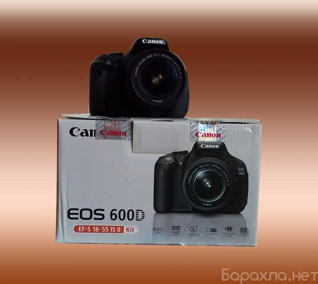 Продам: фотоаппарат Canon 600d бу в отл. состоян