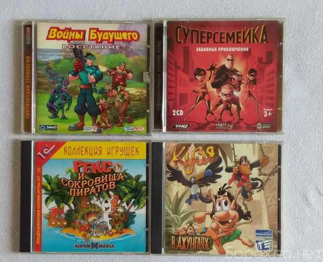 Продам: компьютерные игры для детей и подростков
