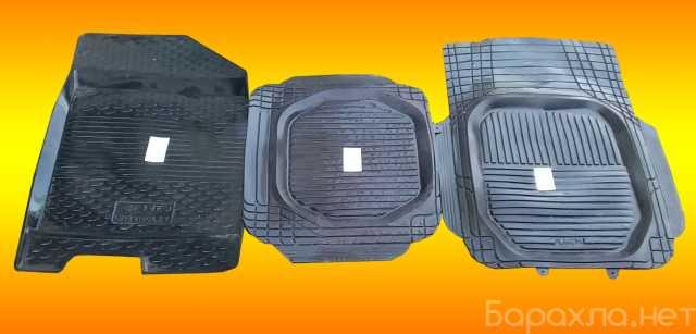 Продам: 3 коврика резиновых автомобильных