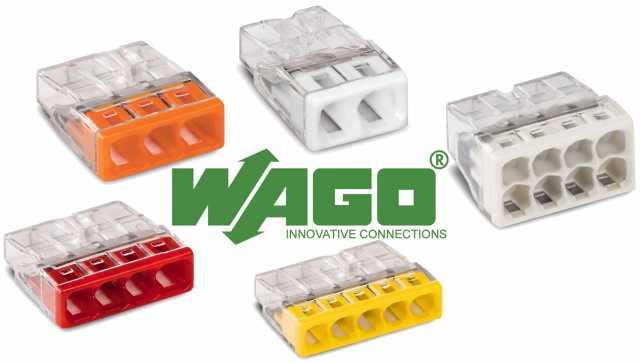 Продам: Клеммы wago