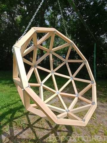 Продам: Кресло деревянное подвесное качели качал