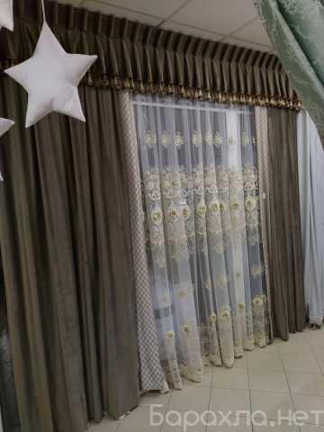 Продам: Тюль портьера ламбрекены покрывала
