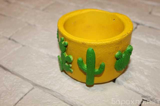 Продам: Горшок из цемента для растений Кактусы