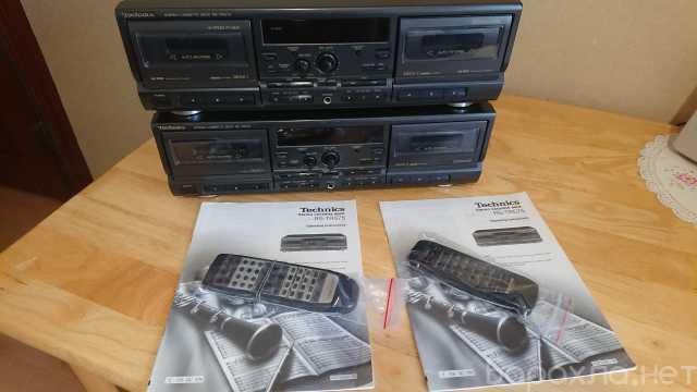 Продам: Кассетная дека 2 штуки Technics RS-TR5