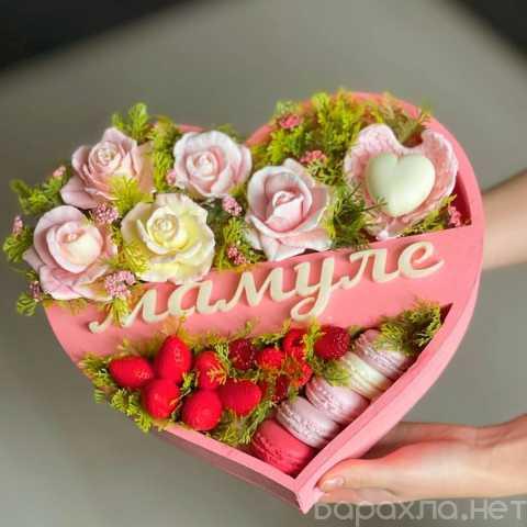 Предложение: Коробки с цветами и сладостями в г. Губк