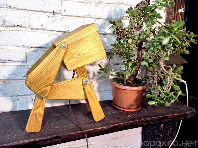 "Продам: Лампа настольная собака ""Кейти"""