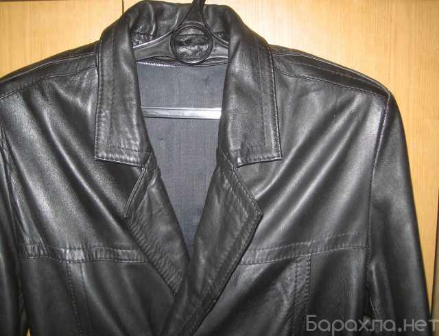 Продам: эксклюзивный югославский кожаный плащ