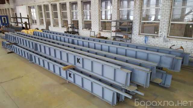Продам: Подкрановые пути и опорные колонны для к