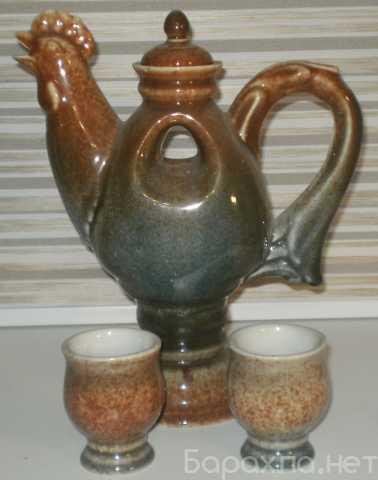 """Продам: Чайник керамический """"Петух"""""""