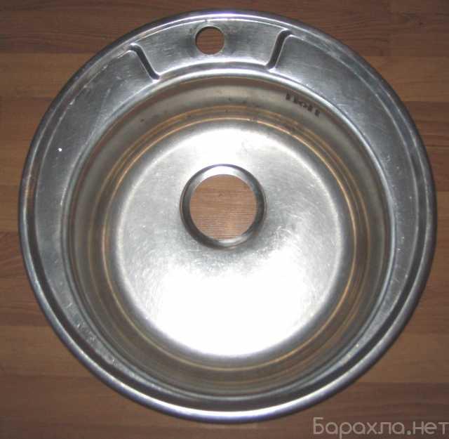 Продам: мойку нерж. врезную D 475 мм