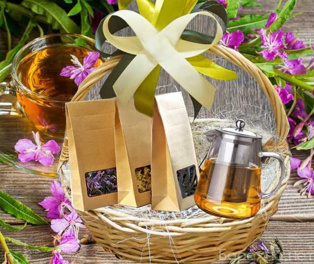 Продам: Подарочный набор чая Бодрость Иван чай