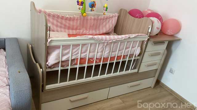 Продам: Детская кроватка- трансформер