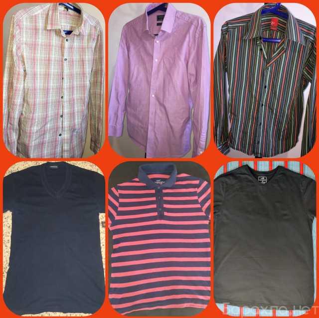 Продам: Мужские рубашки и летние футболки, поло