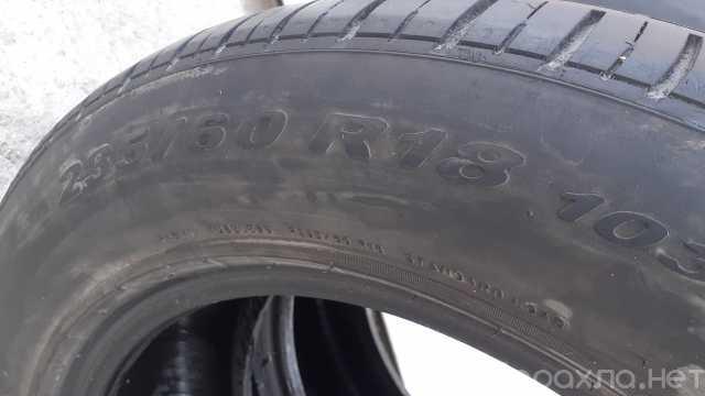 Продам: Две летние авто шины 235/60 R-18
