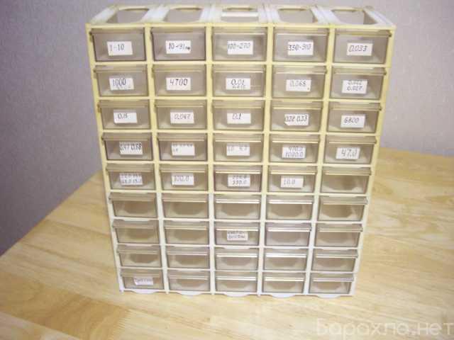Продам: Кассетница для радиодеталей