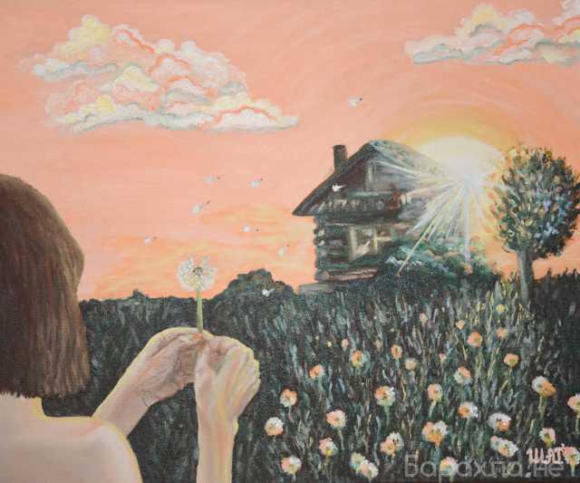 """Продам: Картина маслом """"Молитва"""""""