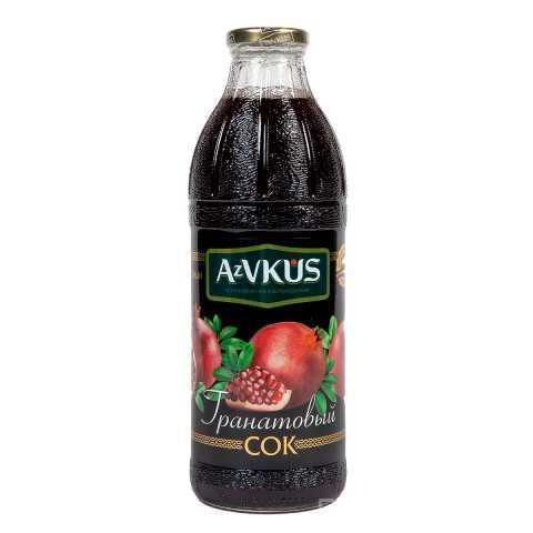 Продам: Сок Гранатовый AzVKUS 1л