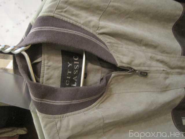 Продам: Куртка легкая демисезонная цвета хаки