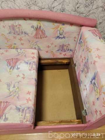 Продам: Диван-кровать для девочки б/у