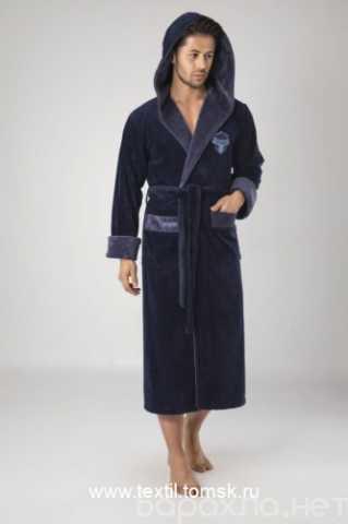 Продам: мужской халат с капюшоном. Турция