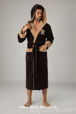 Продам: Халат мужской с капюшоном Nusa Us Polo