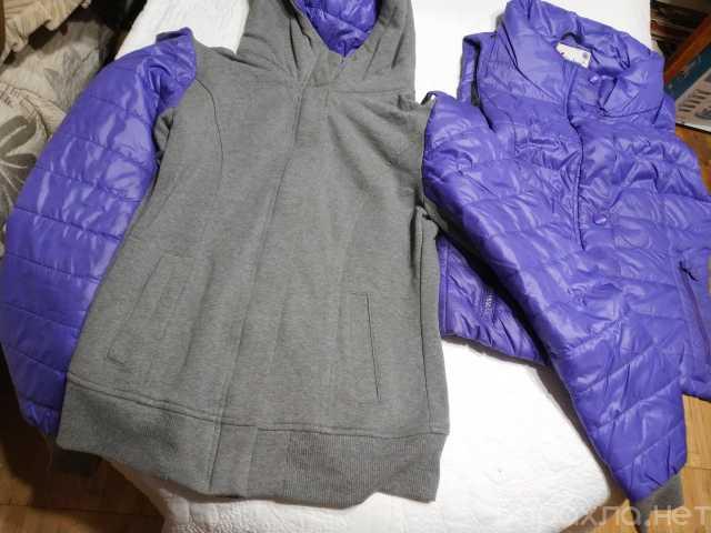Продам: Жилетка - куртка с капюшоном для спорта