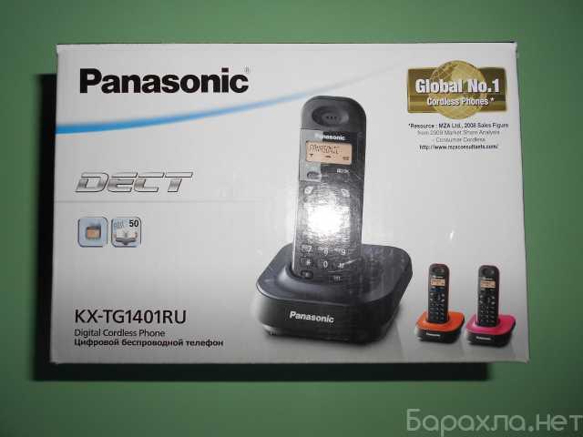 Продам: Радиотелефон Panasonic KX-TG1401