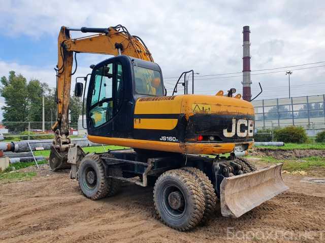 Продам: JCB JS 160W экскаватор колёсный