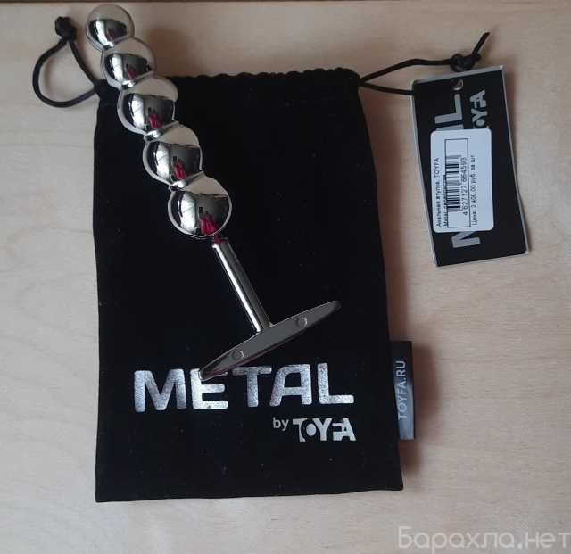 Продам: Анальная пробка Metal by TOYFA
