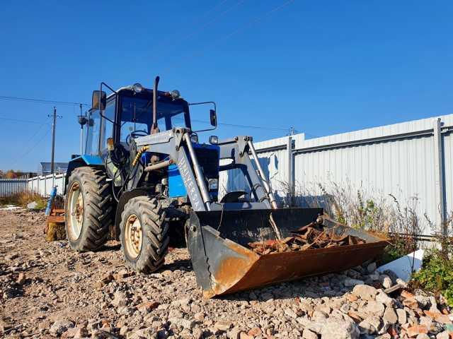 Продам: Трактор МТЗ 82.1 (челюстной ковш, щетка)