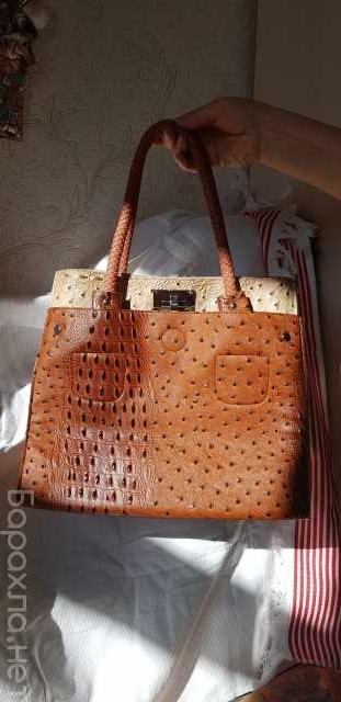 Продам: Женская сумка из кожи страуса