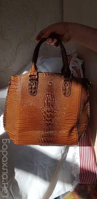 Продам: Женская сумка из кожи крокодила