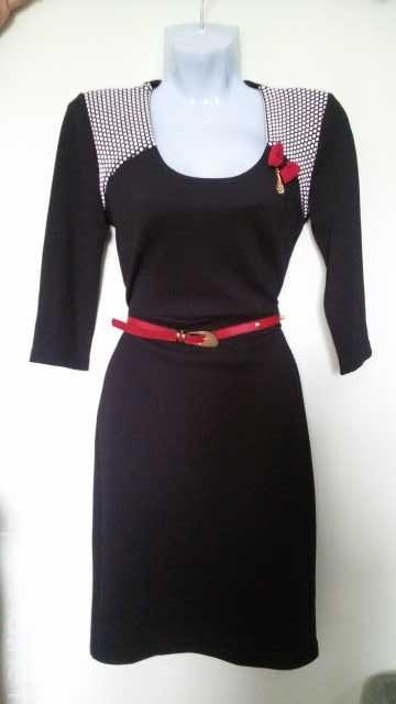 Продам: Платье чёрное облегающее р. 42-46 новое