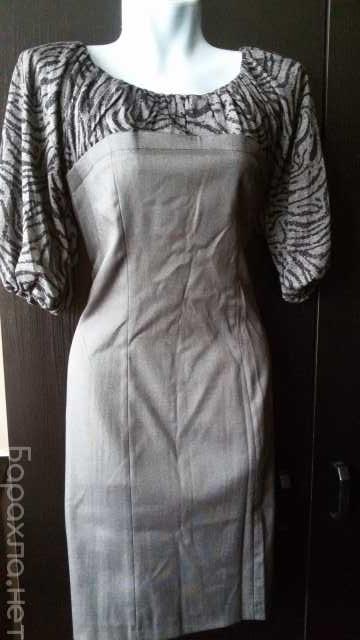 """Продам: Платье """"карандаш"""" серое стрейч р. 42-46"""