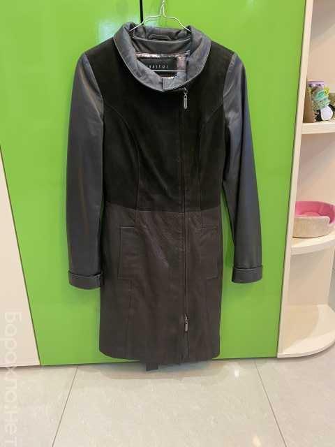 Продам: Продам кожаный плащ